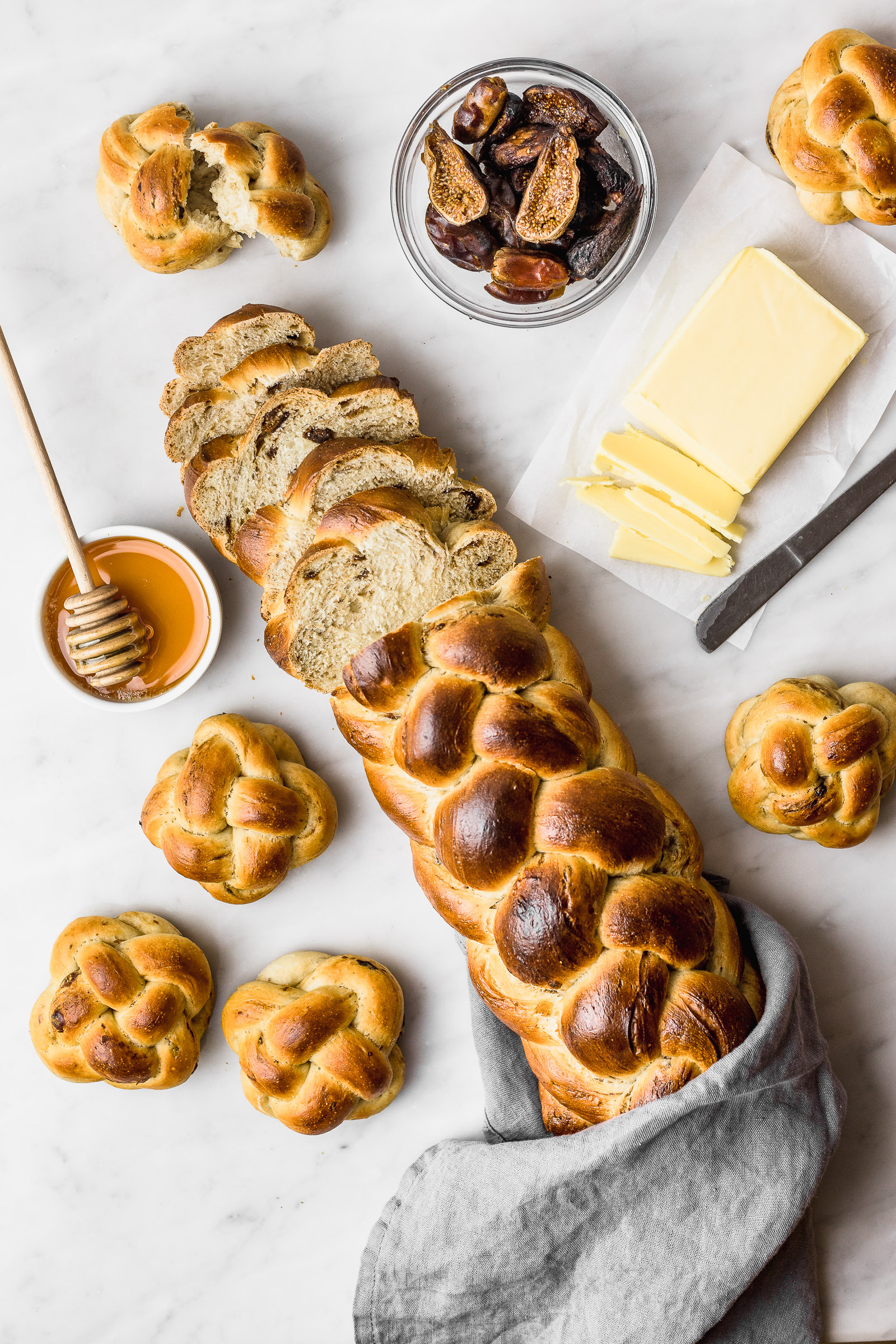 Challah Bread With Dates And Dried Figs Cravings Journal