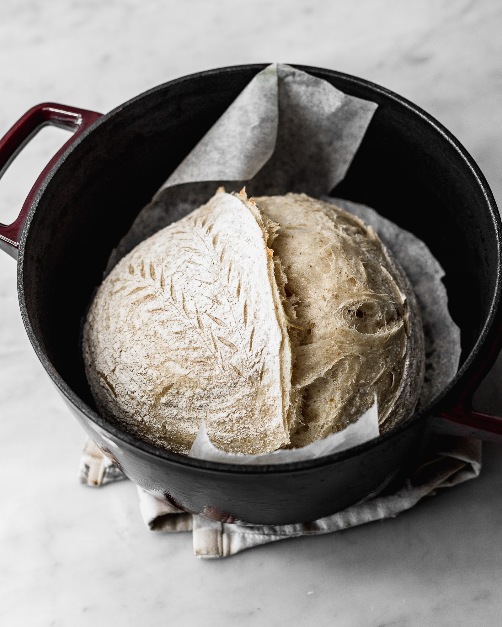 How To Bake Sourdough Bread In A Dutch Oven Cravings Journal